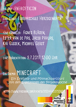 Flyer Minecraft small